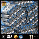 pre galvanized pipe with thread galvanised carbon steel pipes galvanized steel pipe weight