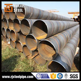astm a252 steel pipe building material spiralling pipe carbon ssaw steel pipe