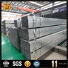 180*180 square tube 6m length pre-galvanized square pipe astm a36 rectangular steel tube