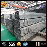 180*180 square tube 6m length pre-galvanized square pipe astm a36 rectangular steel tube