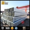 20*20 pre-galvanized square steel tube astm a36 pre-galvanized rectangular tube bridge steel galvanized square pipe