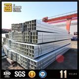 20*20 pre-galvanized square steel tube astm a36 pre-galvanized rectangular tube bridge steel galvanized square pipe
