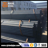 Q235 circular hollow section, 1 inch thin wall erw welded steel pipe, Black mild steel pipe