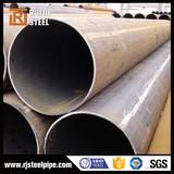 api 5l gr.b lsaw weld carbon steel pipe black and bright carbon steel pipe carbon lsaw steel pipe