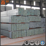 Galvanized ms rectangular hollow section steel galvanized pipes for construction steel tube