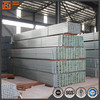 Ms mild steel q235b square steel pipe 38*38 galvanized steel hollow section galvanized tube
