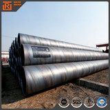 Large diameter carbon spiral steel pipe submerged arc welded spiral steel pipe ssaw pipes