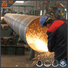 API 5L x60 spiral welded steel pipe, diameter 2020m spiral seam submerged arc welded carbon steel pipe