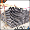 ASTM A53 6inch schedule 40 black steel pipe, 165mm mild carbon large diameter steel pipe ton price