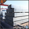 25x25x1.2 square tube hollow section, pre galvanized square steel pipe for construction, thin wall welded rhs tube