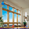 Clear insulating glass, energy saving vacuum insulated glass for window