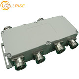 Insertion Loss gsm band 4 in 4 out Din port 6db hybrid coupler combiner