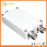 Low PIM -150dBc 698-2700MHz 4.3-10 connector 2 Way Microstrip splitter
