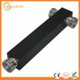 High Power 500w Low PIM -150dBc 698-2700MHz din type square 2 way power divider splitter