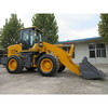 China small wheel loader with attachments optional