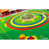 Elastic EPDM Rubber Flooring Non - Toxic Recycled Gym Rubber