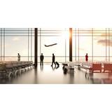 Fluorine Silicon Flexible Flooring for Airport or School Classroom
