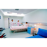 Fluorine Silicon Flexible Flooring With Handsome Appearance for Hospitals