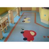 Decorative Seamless Flooring for Hospital Corridor or Lobby