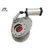 ceramic rotary disc gate valve,ceramic rotary gate valve,Pneumatic Rotating Type Ceramic Gate Valve,rotary valve,ceramic gate valve,ceramic valves