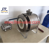 Pneumatic Zirconia High Anti-Corrosion  Ceramic  Ball Valve,ceramic ball valve