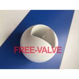 3 PCS Ceramic Lined Pneumatic Floating Ball Valve,ceramic ball valve