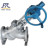 Manual Operation Y Type Slurry Valve for Alumina Industry,Y type globe valve