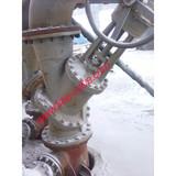 Manual Operation Y Type Slurry Valve for Alumina slurry,Y type globe valve