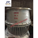 Stainless Steel Flanged Foot Valve with Strainer,Flange foot valve