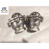 Screw Thread End Stainless Steel Foot Valve ,plastic foot valve