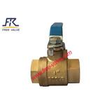 Steel Handle Bronze Ball Valve for sea water,bronze thread ball valve