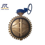 Double Flanged Centric Disc Rubber Lined Butterfly Valves,butterfly valve wafer type centric