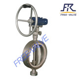 Manual Wafer type CeramicLined Butterfly Valve