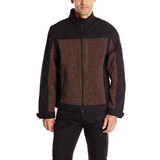 2017 New Fashion Men's Full Zip Softshell Knitted Fleece Jacket