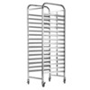 double racks custom made trolley cooling tray rack bakery kitchen equipment