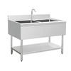 Handmade Stainless Steel Kitchen sink