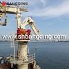 hydraulic telescopic kunckle boom marine deck crane