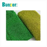 gold fabric raw material making the kitchen cleaning scrubber
