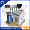 Mobile phone plastic bottle nonmetal plastic materials  glass CO2 laser marking  machine