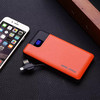 6000mah slim portable power bank with digital readout