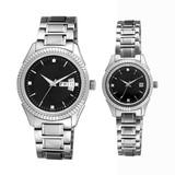 Swiss Movt Couple Watch