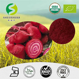 China Suppliers Wholesale Free Sample Sugar dried red beet root powder,Best quality food additive natural pigment colorant E2 E30 betanin beet root extract powder