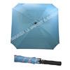 Windproof fiberglass square shape golf umbrella