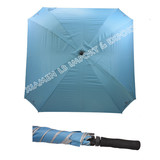Windproof fiberglass square shape golf umbrella