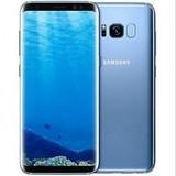 "Samsung Galaxy S8 plus G9550 Dual Sim Blue 128GB 6GB RAM 6.2"" Android Phone"