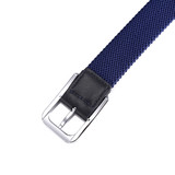 factory custom 2017 Newstyle multicolor man's Braided Stretch Elastic Belt