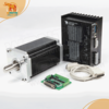 Wantai Motor Nema42 Stepper Motor 110BYGH150-001 3256oz 150mm+Driver DQ2722MA 220V 7.0A 300Micro CNC Router Kit