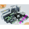 5 Axis Stepper Motor 425oz-in&1090oz-in Single Shaft+Driver DQ860MA& DQ542MA CNC Router Kit Engraver