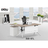Guangzhou cheap modern L shape executive officce furniture desk maneger table