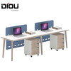 Modern Fashionable Office furniture Staff Desk for 2 person